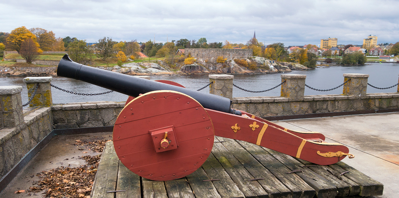 Fredrikstad by stort bilde