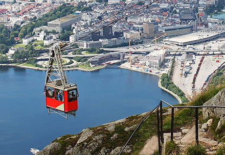 Bergen by lite bilde1