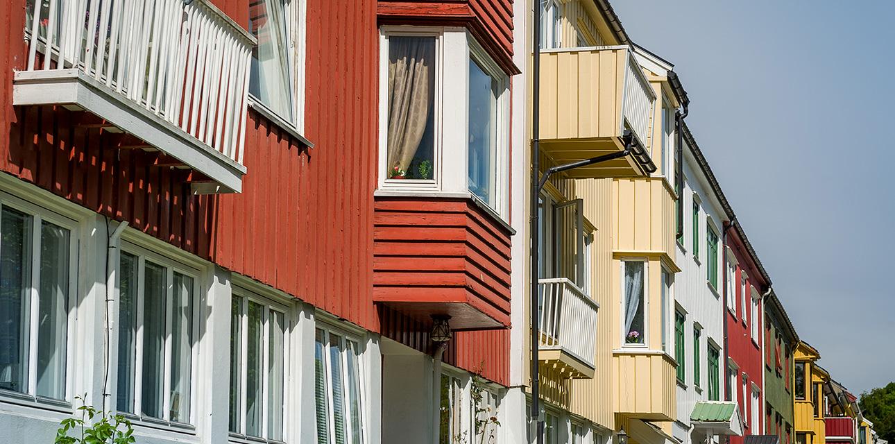 Kristiansund by stort bilde