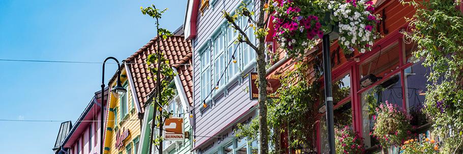Stavanger by rektangel bilde